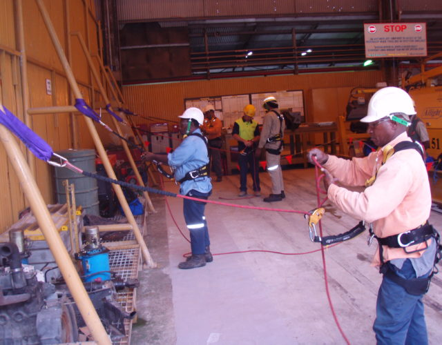 Work Safely at Heights Training