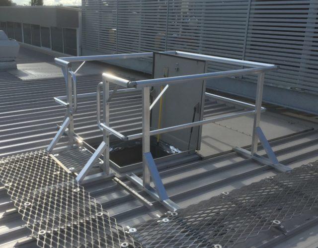 Perimeter Guardrails & Handrails