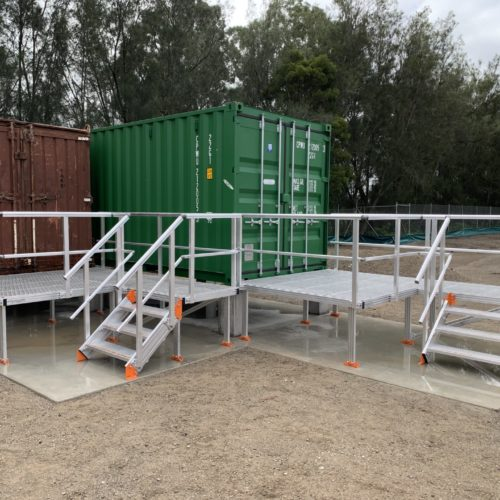 Kombi Stairs & Platforms